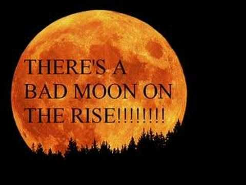 "Bad Moon Rising"" by Creedence Clearwater Revival. (With images ..."