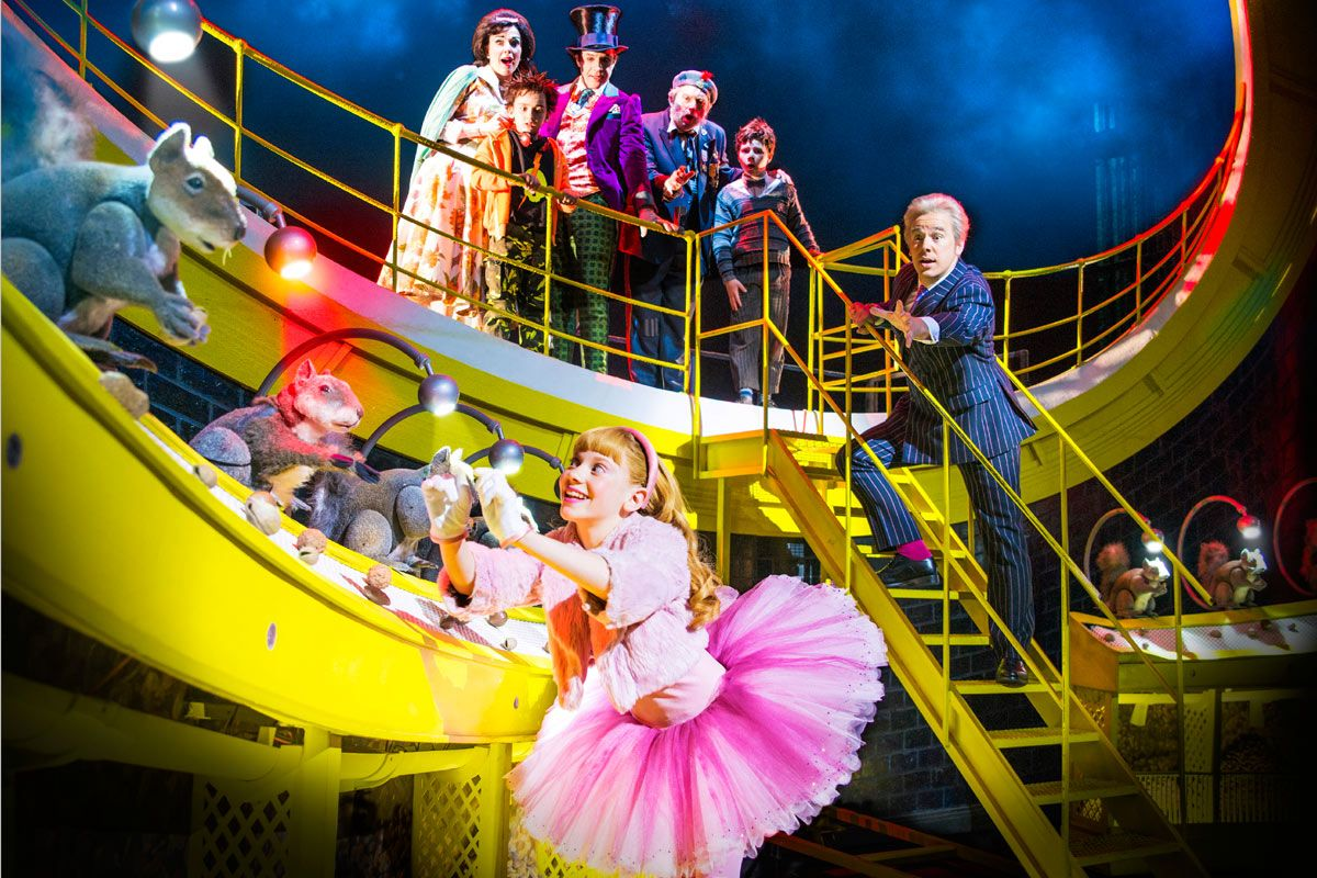 charlie and the chocolate factory musical - Google Search | set ...