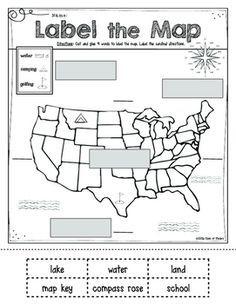 mapping label it first grade and kindergarten social studies math kindergarten social. Black Bedroom Furniture Sets. Home Design Ideas