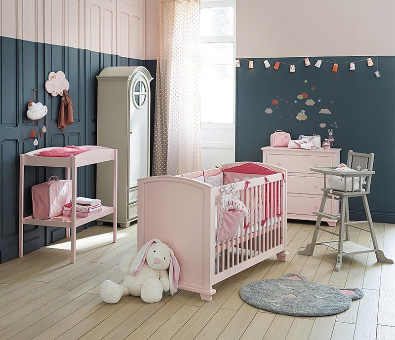 Maisons du monde la collection kids kidsroom wall - Chaise rose maison du monde ...