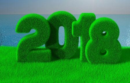 Boldog új évet!   Fű, Craciun, Kártya, Karácsony, Zöld, 2018