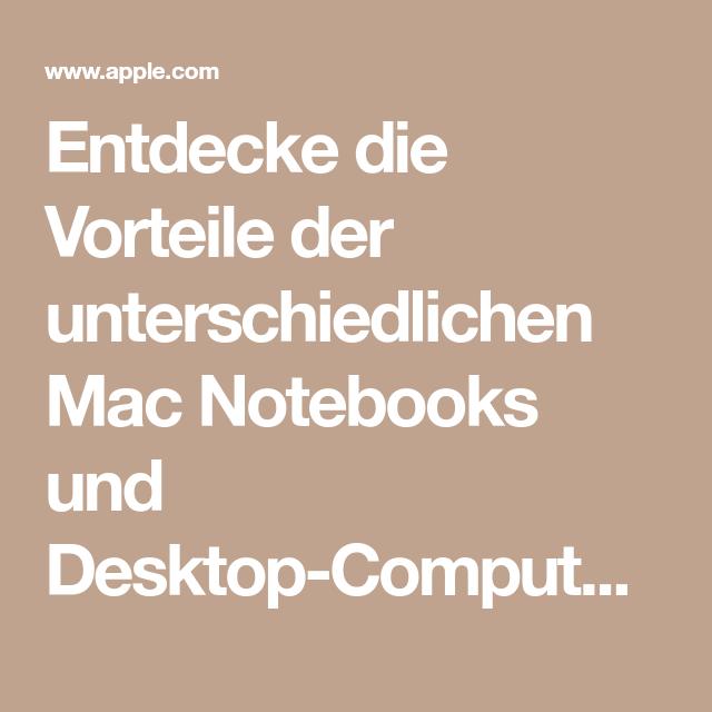 Vorteile Von Mac