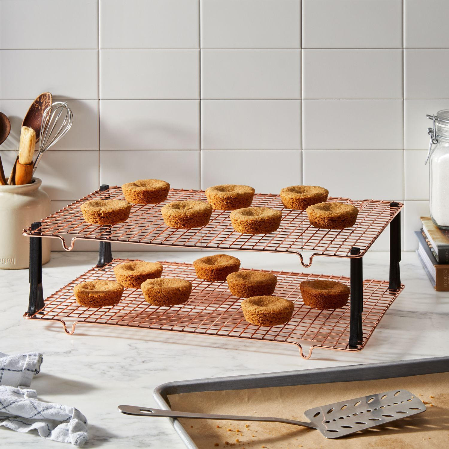 Nordic Ware Stackable Cooling Rack On Food52 Food 52 Cooling