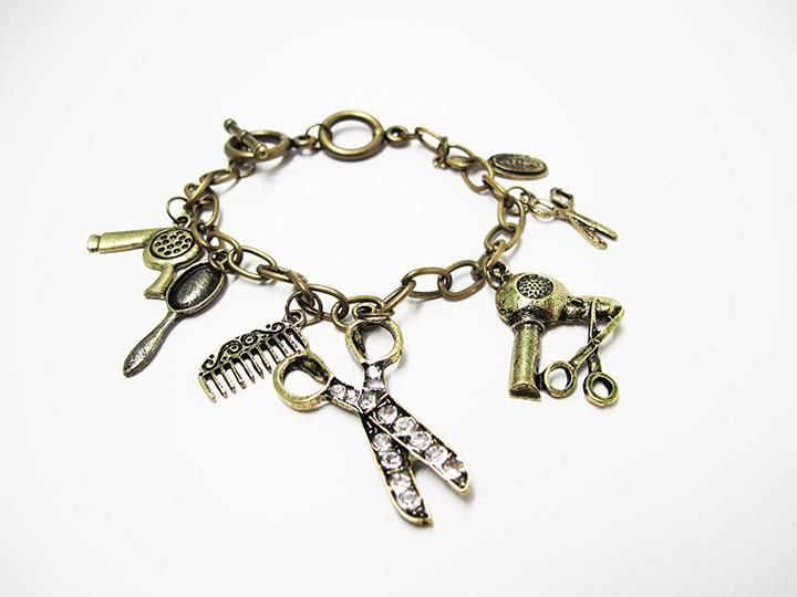 8c560a9d38caf Cosmetology charms bracelet | Window Shopping | Tattoo clothing ...