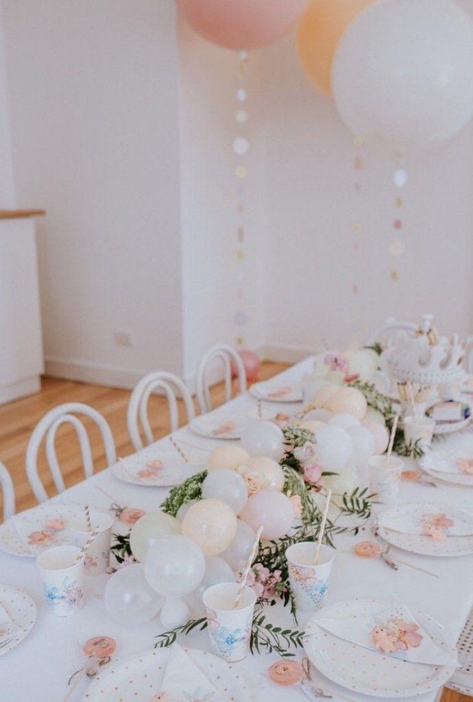 A kewpin\' cute first birthday | Table settings, Arch and Birthdays