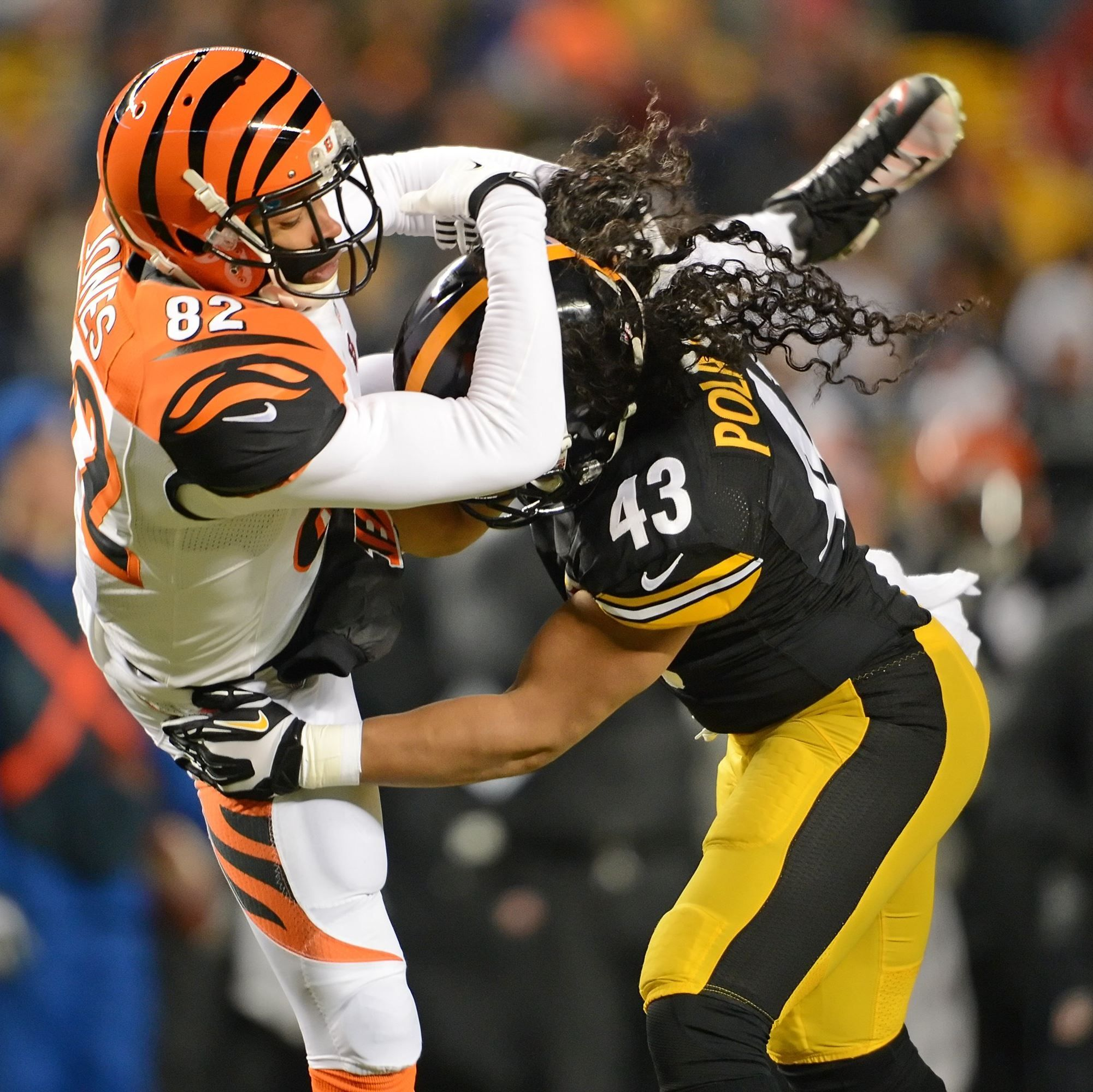 steele0105 Steelers safety Troy Polamalu might be back next season, but a few of his