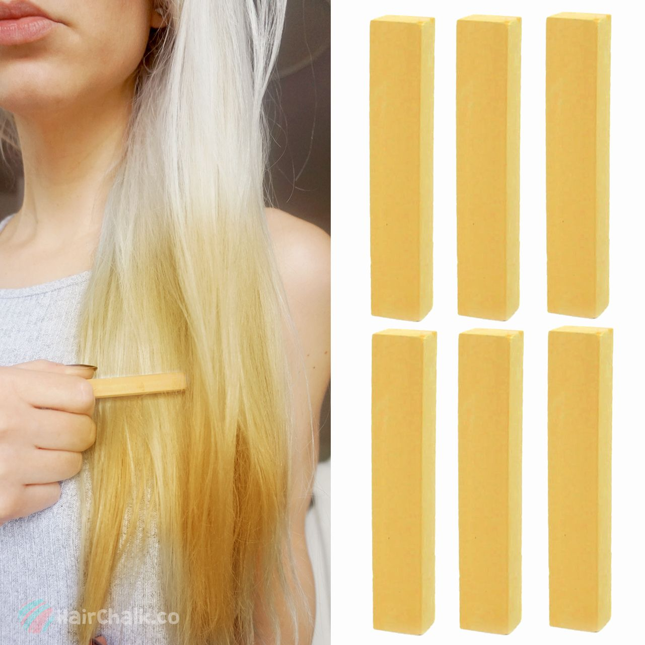 Best Temporary Kim Kardashian Blonde Hair Dye Set Golden Blonde