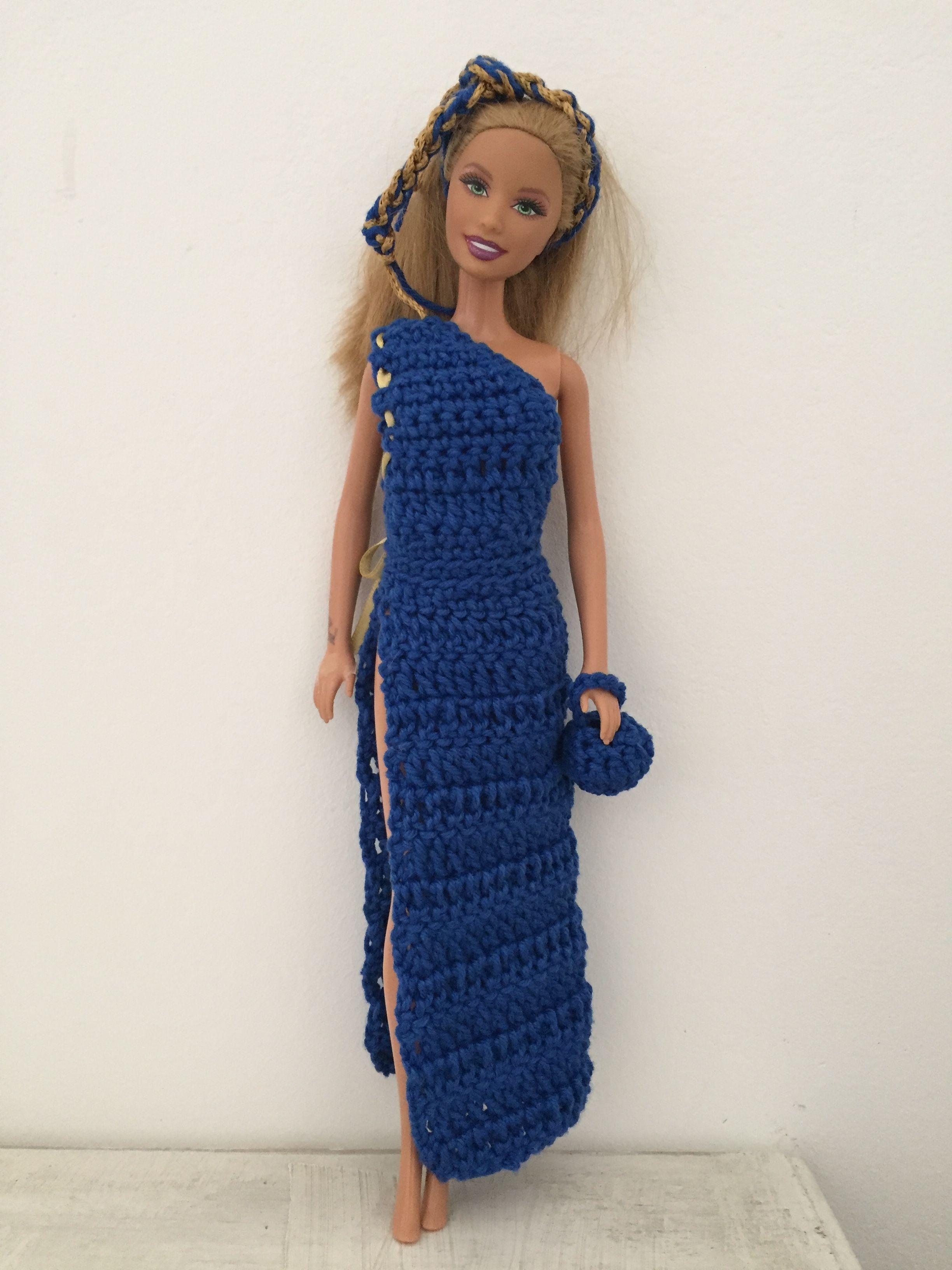 Pin Van Bertie Op Barbie Kleertjes Pinterest Barbie Haken En Poppen