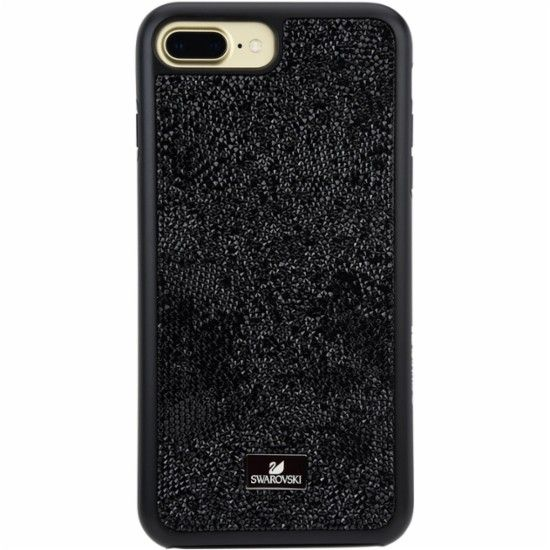 the latest 276d7 b0048 Swarovski - Case for Apple® iPhone® 7 Plus - Black - Front_Zoom ...