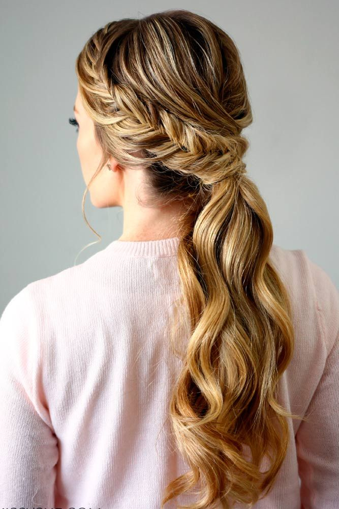30 Cute Ponytail Hairstyles for you To Try | Wedding - Pocitas ...