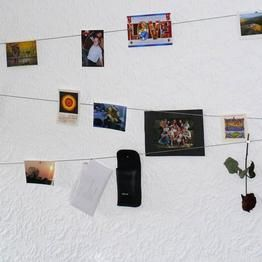 fotoseil mit magneten selbst machen diy zuhause pinterest. Black Bedroom Furniture Sets. Home Design Ideas