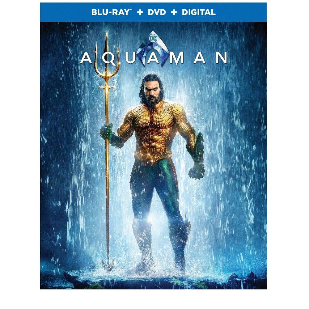Aquaman Blu Ray Aquaman Aquaman 2018 Dvd