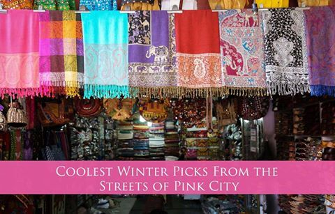 Coolest Winter Picks From the Streets of #PinkCity Address: Hawa Mahal Road, Pink City      #winterseason #traditional #CoolestWinter  #CityShorJaipur