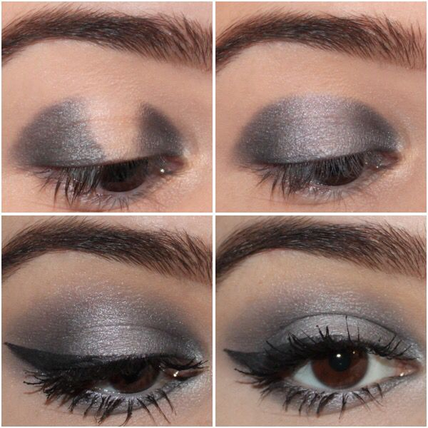Smoky eyes for sensitive eyes using La Roche Posay products. You can find more swatches and explanations on my blog : http://laparenthesebeaute.com