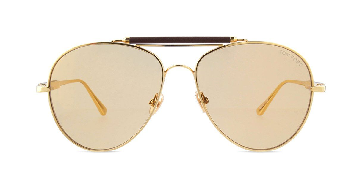 75a2c4e8b7 Tom Ford FT0704 Gold / Brown Lens Mirror Sunglasses in 2019 ...