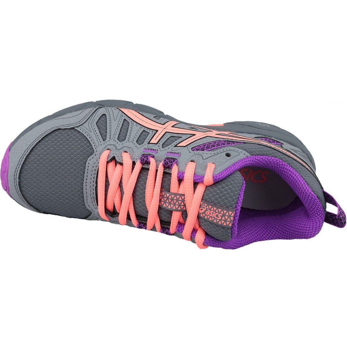 Buty Biegowe Asics Gel Venture 7 Gs Jr 1014a072 020 Szare Running Shoes Grey Asics Gel Venture Asics Gel