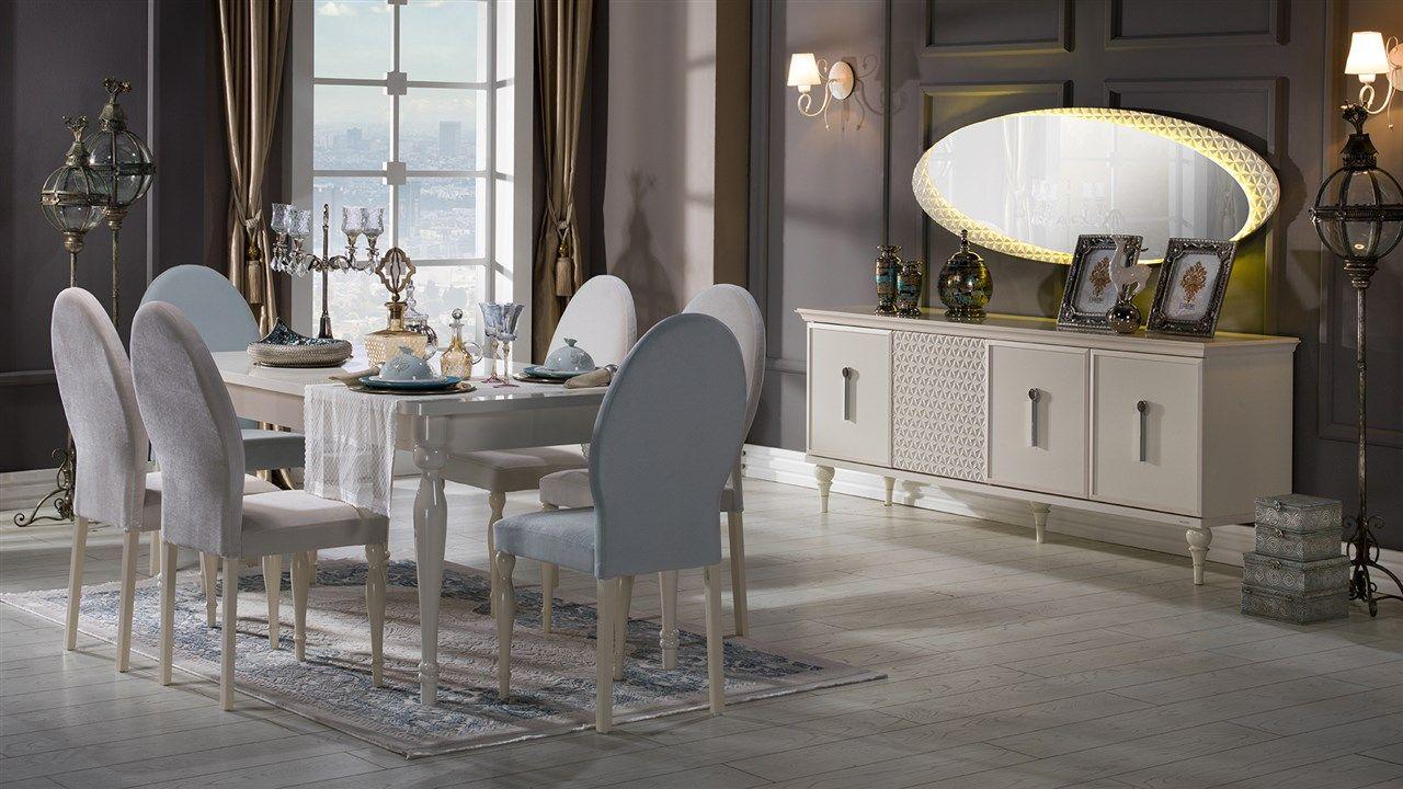 Angel Yemek Odasi Takimi Bellona Mobilya Shabby Chic Bathroom Home Decor Furniture