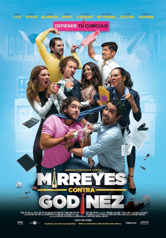 Mirreyes Vs Godinez Poster Criticas De Cine Solo En Cines Peliculas