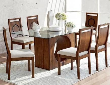 Resultado de imagen para mesas de comedor para 6 personas modernas ...