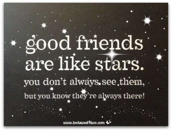 Friends Quote Pen