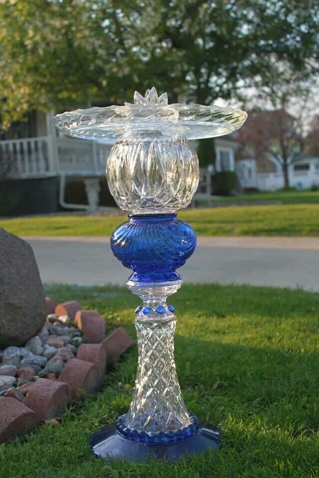 Glass Garden Art · Designs By Flare, Check Us Out. Glass Creations For Sale.