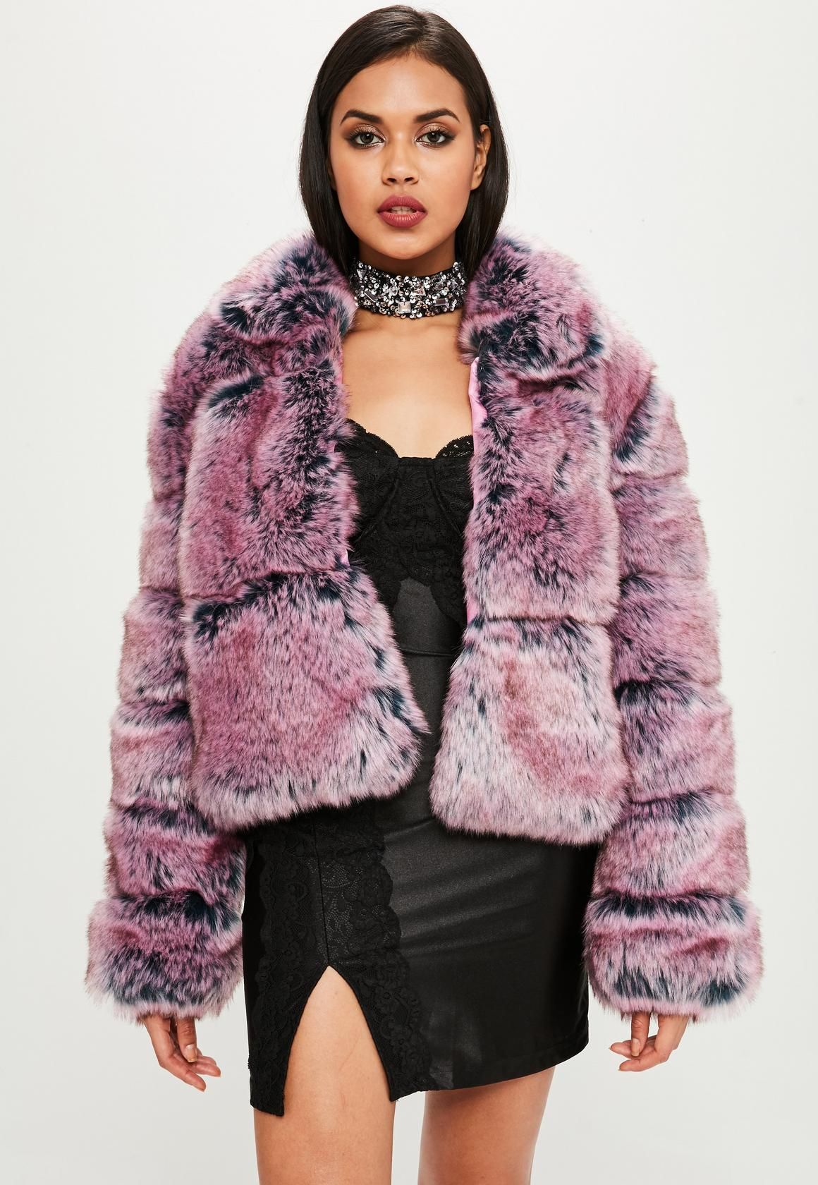 a25edc7d5ad3c Missguided - Carli Bybel x Missguided Pink Puffer Jacket