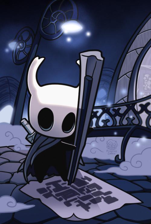 Frootsy Doodles Hollow Art Knight Knight Art