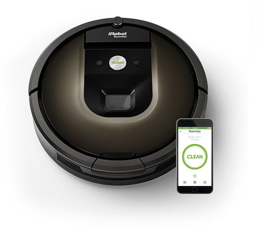 Neat Seekers Will Love This Smart Robotic Vacuum The Roomba 980 Is Irobot S Most Capable Robotic Vacuum To Date When Pai Roomba Vacuum Irobot Roomba Irobot