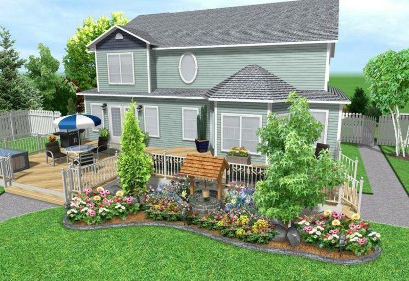 Online Gartenplanung 3d Effekte Hinterhof Designs Landschaftsdesign Garten Landschaftsbau