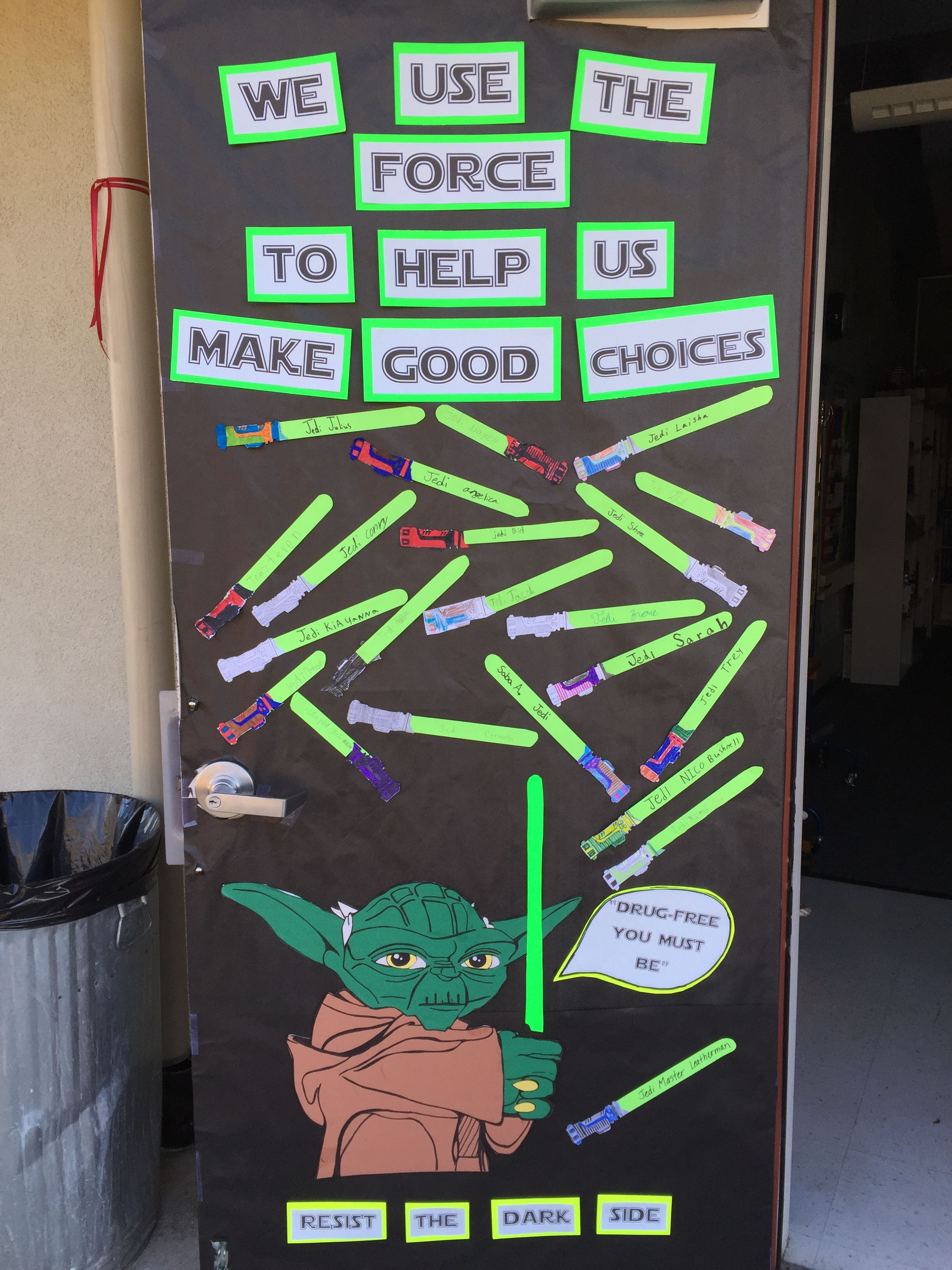 Classroom Door Decoration Ideas For Red Ribbon Week : Red ribbon week door idea pinterest