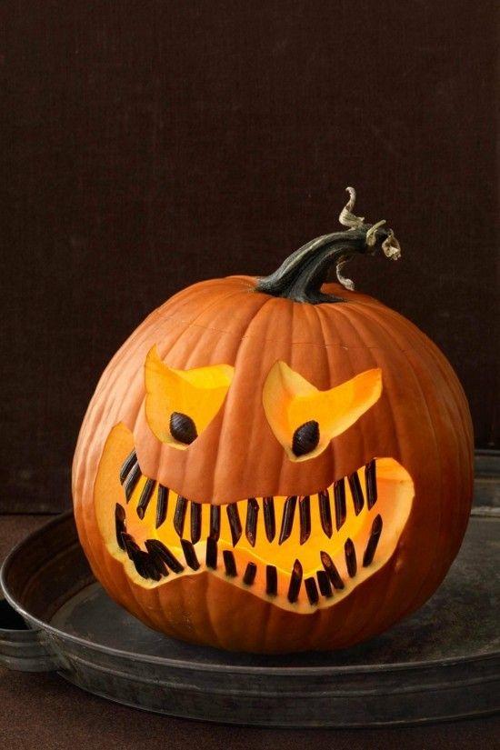 30 Ideen zum Halloween-Kürbis Schnitzen #sculpturesdecitrouille