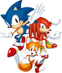 Sonic the hedgehog naked tails are not