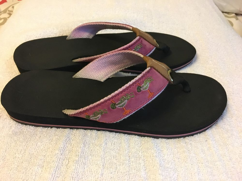 cd248e1fc Womens Margaritaville Breezy Wedge Thong Flip Flops Sandals Pink  EmbroidTrees 9  fashion  clothing  shoes  accessories  womensshoes  sandals  (ebay link)