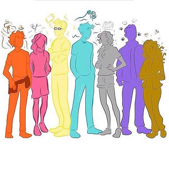 The seven half bloods
