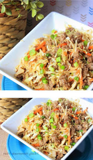 How to make eggroll in a bowl - Food Recipes #eggrollinabowl