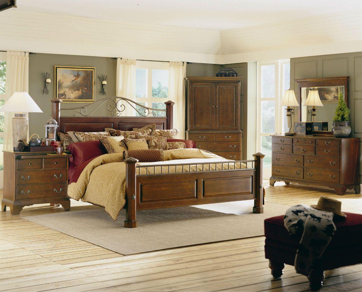 Kincaid Brookside Solid Wood Meadowview Bedroom Set Wood