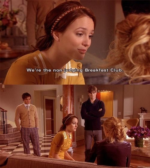 Gossip Girl Season 4 Episode 1 Quotes: You Can Tell Us Anything. We Don't Judge. We're The Non