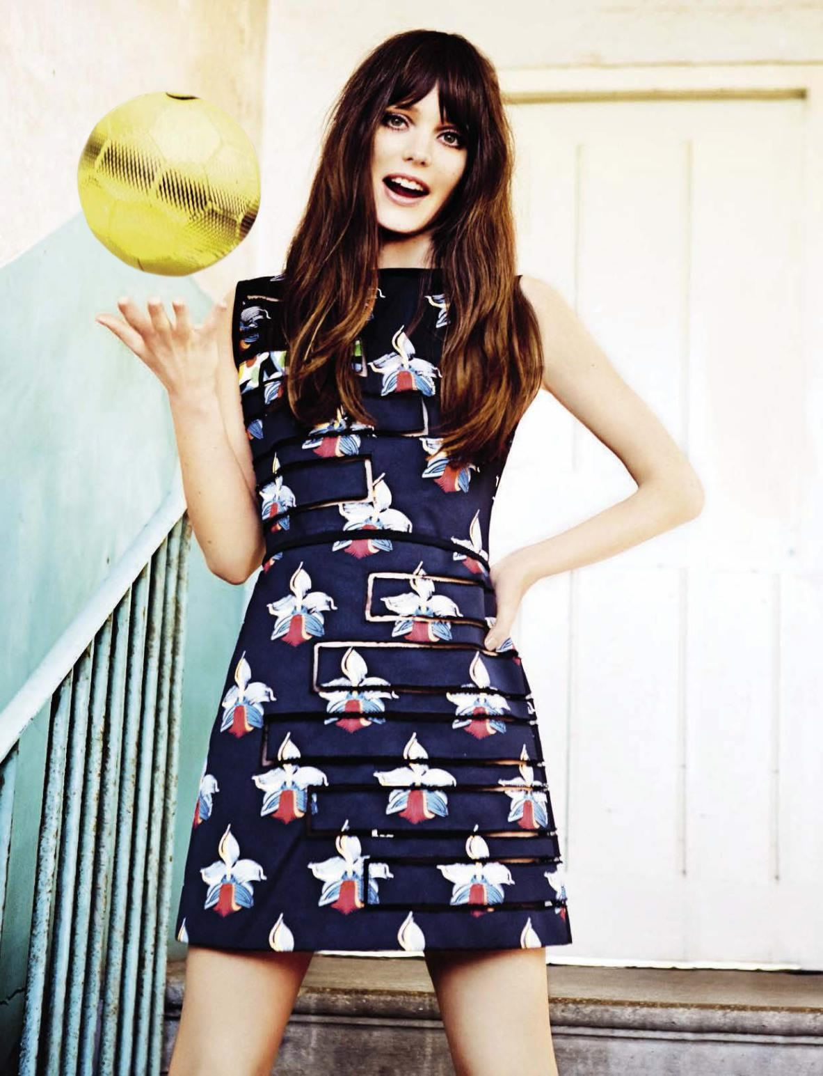 Stacy Martin by Ellen von Unwerth for Glamour Italia May 2015