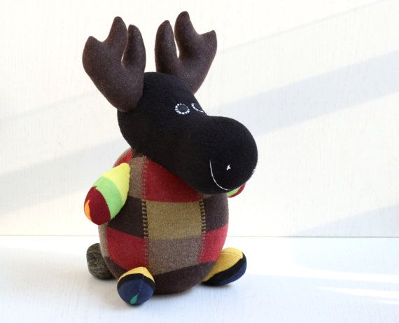 T8  Plush stuffed animal Personalized toys  deer  Moose  Elk  baby  Home Decor  soft doll  new baby gift  6#