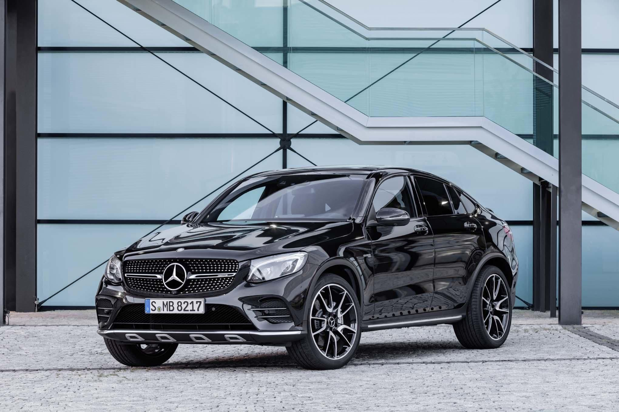 2017 Mercedes Amg Glc43 Coupe To Debut At Paris Motor Show
