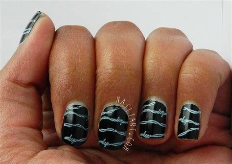 342 elegant black nail art designs  nails nail manicure