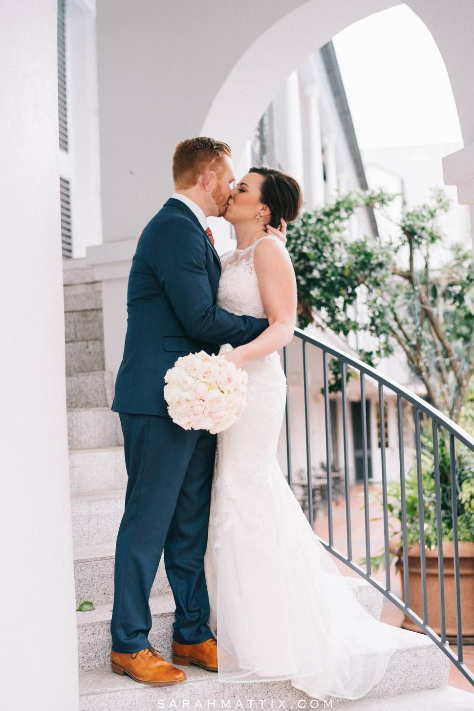 New orleans wedding featuring a stella york designer gown real