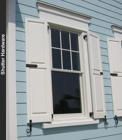 Home architecture exterior shutters pinterest hardware shutter hardware and window for Hardware for exterior shutters