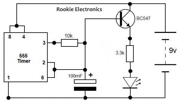 servo motor controller using 555 timer