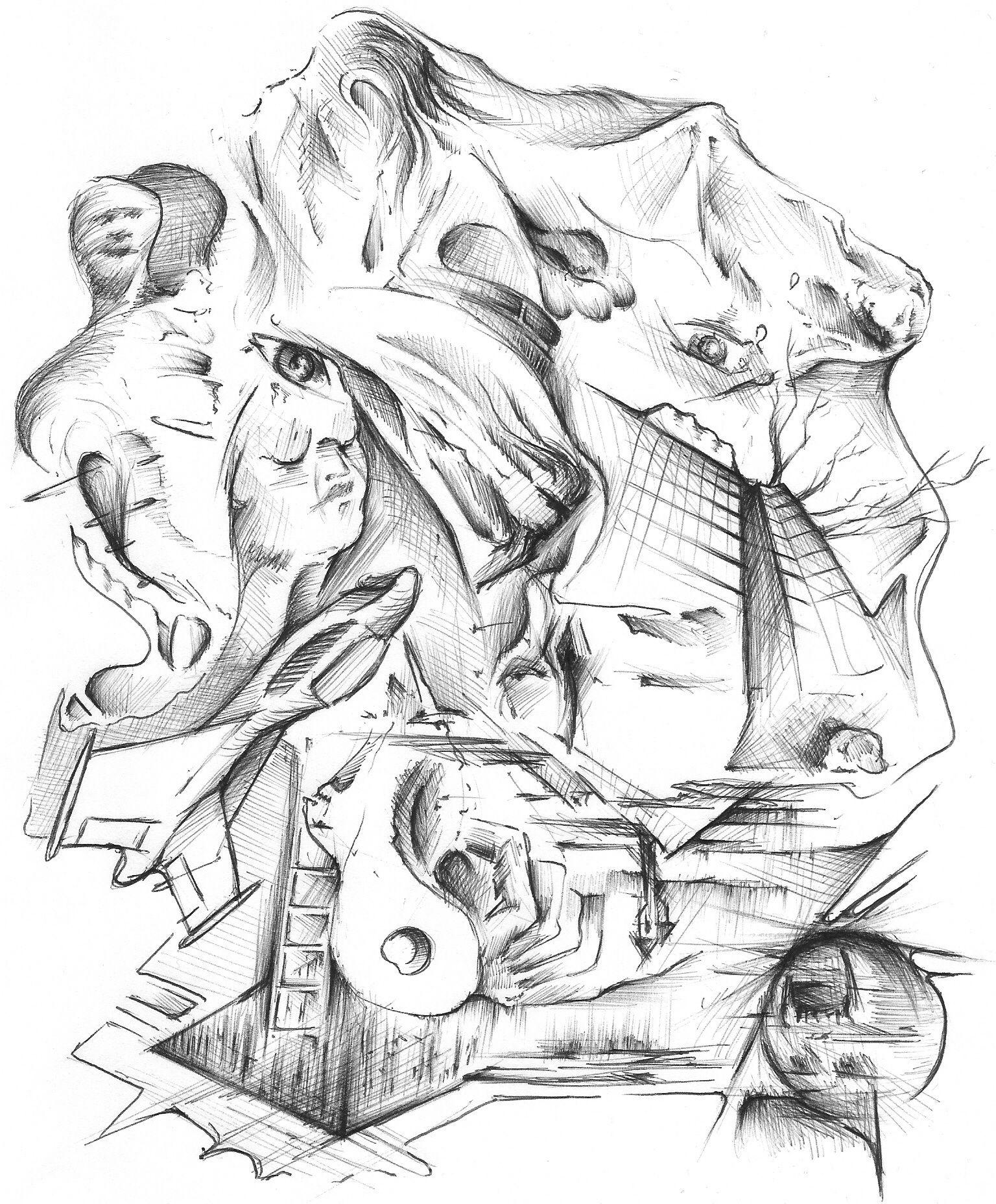 rrrickyshaw.com 2009 abstract surreal