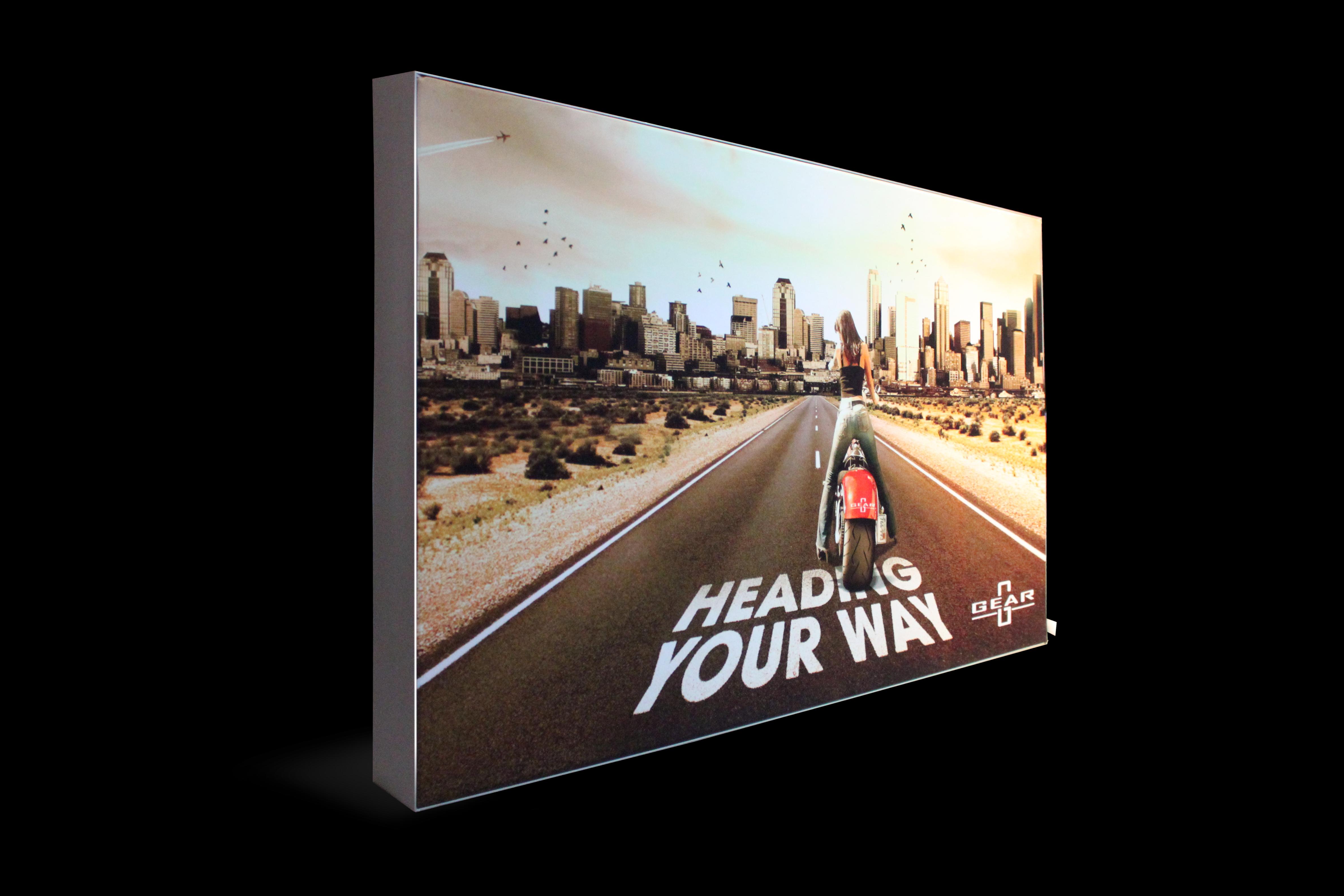 diy advertising led frameless light box design,Welcome to