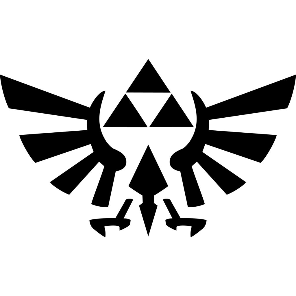 Zelda Triforce Sticker Zelda Tattoo Legend Of Zelda Tattoos Zelda Logo