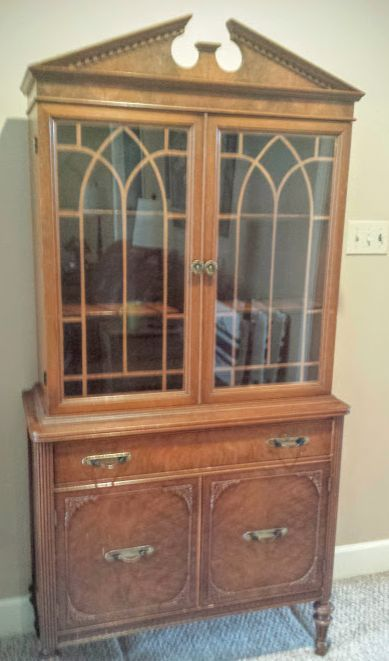 old china cabinet makeover | furniture & wood | pinterest | cabinet
