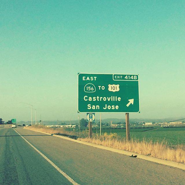 And now... direzione Castroville per Primavera dei teatri 2017!  #castroville #ca #primaveradeiteatri2017 #scenaverticale #castrovillari #castrovillelocals #montereylocals - posted by Emilia Brandi https://www.instagram.com/emilb.us - See more of Castroville, CA at http://castrovillelocals.com