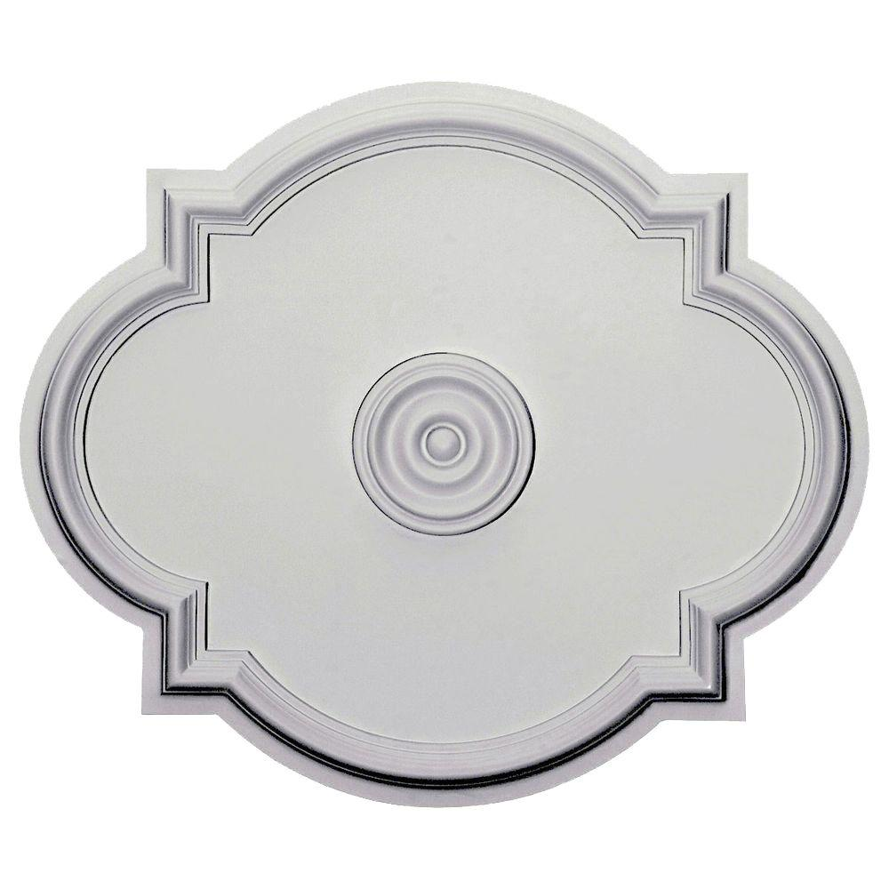 shop millwork urethane pd lunel ceiling in ekena x medallion